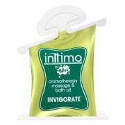 Масло для массажа Inttimo Invigorate с ароматом эвкалипта и лимона - 10 мл.