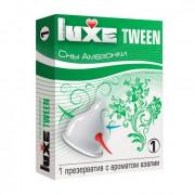 Презерватив Luxe Tween  Сны амазонки  с ароматом азалии - 1 шт.