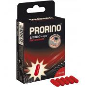 БАД для женщин ero black line PRORINO Libido Caps - 5 капсул