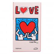 Презервативы Sagami LOVE Keith Haring - 12 шт.