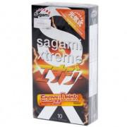 Презервативы Sagami Xtreme Energy с ароматом энергетика - 10 шт.