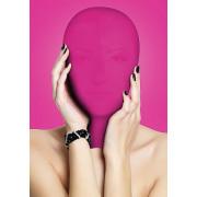 Закрытая розовая маска на лицо Subjugation